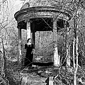 Kathy In Gazebo 1979 by Ed Weidman