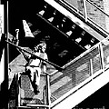 Katie-fire Escape by Gary Gingrich Galleries
