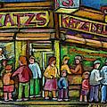 Katz's Deli by Carole Spandau