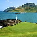 Hokuala - Ocean Course - Hole 16 by Scott Carda