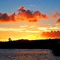 Kauai Sunset 2 by Catherine Rogers