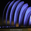 Kauffman Center Of Performing Arts During All-star Week by Raye Pond