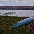 Kayak Colors Fall by Michael Thomas