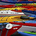 Kayak Explosion by Glen Wilkerson