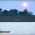 Kayak Fishing 1 by Lynn Griffin