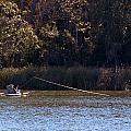 Kayak Fishing by Michael Thomas