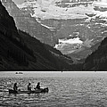 Kayak On Lake Louise by RicardMN Photography