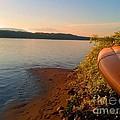 Kayak On The Hudson by Beth Ferris Sale