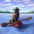 Kayak Ride by Kathleen Harte Gilsenan