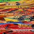 Kayak Spectrum by Robert Mitchell