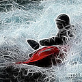 Kayaker 2 by Bob Christopher