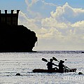 Kayaking Across The Bay by Scott Cameron