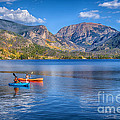 Kayaking Grand Lake by Priscilla Burgers