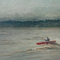 Kayaking In Port Dover by Eduardo Tavares