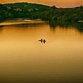 Kayaking On Lady Bird Lake by Kristina Deane