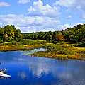 Kayaking The Moose River - Old Forge New York by David Patterson