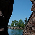 Kayaking Through The Arch by Sandra Updyke
