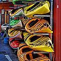 Kayaks Hdrbt3226-13 by Randy Harris
