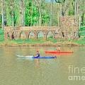 Kayaks by Kathleen Struckle