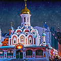 Kazan Cathedral. Red Square. Moscow Russia by Juli Scalzi