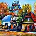 Kazimierz Dolny In Fall by Ryszard Sleczka