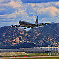 Kc-135 Take Off by Tommy Anderson