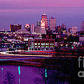 Kc Skyline-1990 by Gary Gingrich Galleries