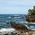 Keanae Coast - The Rugged Volcanic Coast Of The Keanae Peninsula In Maui. by Jamie Pham