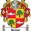 Keane Coat Of Arms Clare Ireland by Heraldry