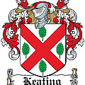 Keating Coat Of Arms Irish by Heraldry
