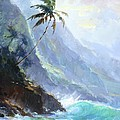 Ke'e Beach by Jenifer Prince
