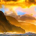 Ke'e Beach Sunset by Dominic Piperata