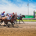 Keeneland Racing by Keith Allen