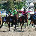 Keeneland Run by Mia Capretta