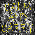 Keep Calm And Carry On by Andrew Fare