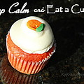 Keep Calm And Eat A Cupcake by Kip Krause