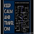 Keep Calm And Travel On Nova Scotia Crosswords by Barbara Griffin