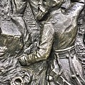 Keep Moving - Charge Of The 106th Pa Volunteer Infantry To The Emmitsburg Road Detail-a Gettysburg by Michael Mazaika