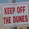 Keep Off The Dunes by Cathy Lindsey