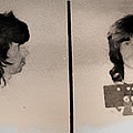 Keith Richards Mugshot - Keith Don't Go by Bill Cannon