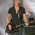 Musician Keith Urban by Concert Photos
