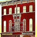 Keith's Jewel Vaudeville Theatre In Easton Pa In 1910 by Dwight Goss