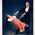 Kellar Levitation Vintage Magic Poster by Edward Fielding