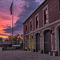 Kenmore Fire Hall Sunset by Chris Bordeleau