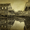 Kennebunkport Dock Square by Priscilla Burgers