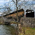 Kennedy Covered Bridge - Chester County Pa by Bill Cannon