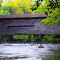 Kennedy Covered Bridge - Kimberton Pa. by Bill Cannon