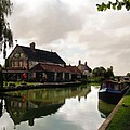 Kennett Amd Avon Canal Uk by Kurt Van Wagner