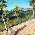 Kenosha Pass - Colrado Trail by Art By - Ti   Tolpo Bader