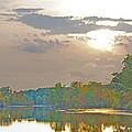 Kensington Autumn Sunset by Bill Woodstock